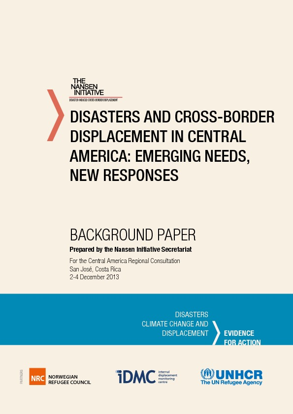 Central America – Background Paper