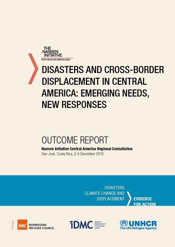 Central America – Outcome Report