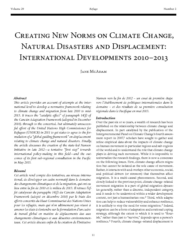 Creating New Norms On Climate Change