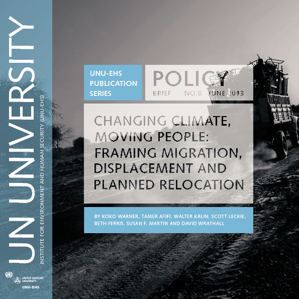 Changing Climate, Moving People
