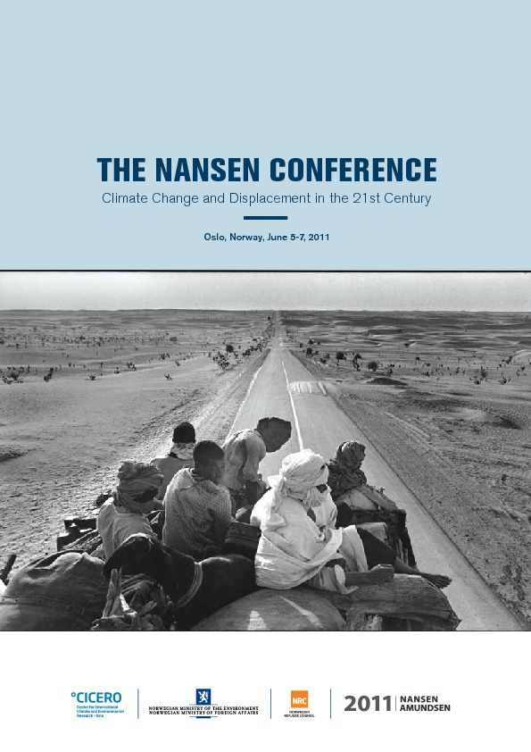The Nansen Conference: Climate Change