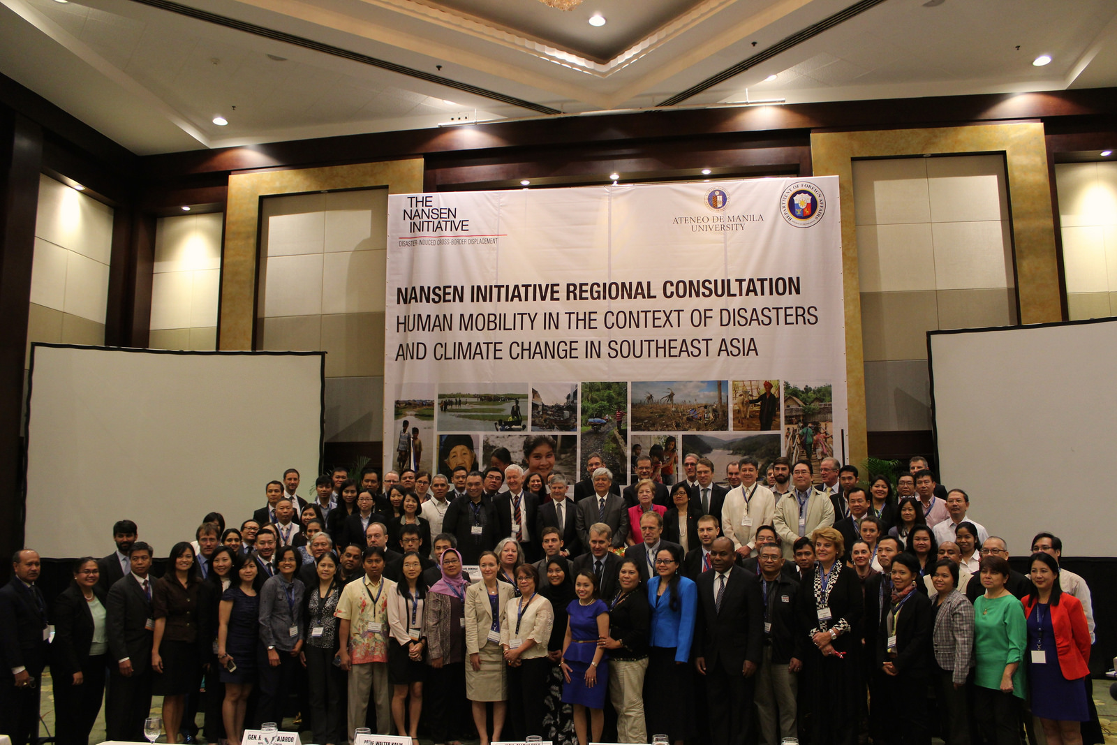 Philippines Hosts Global Conferences On Disasters And Displacement