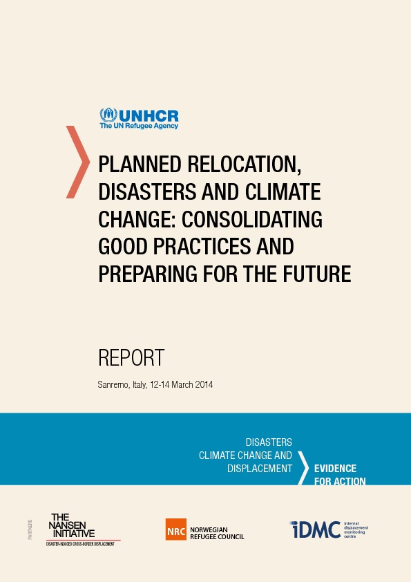 Planned Relocation, Disasters And Climate