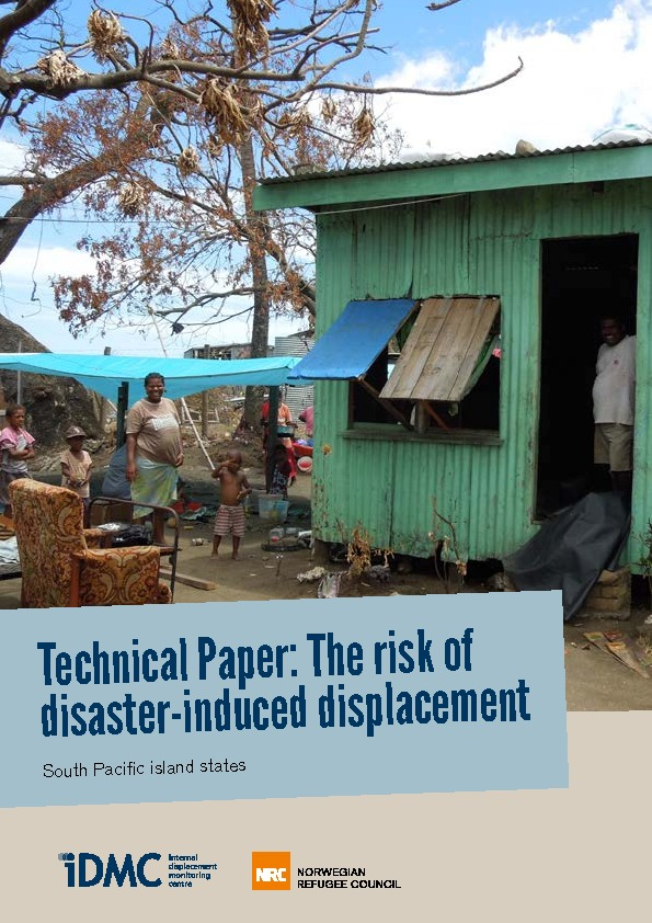 The Risk Of Disaster-induced Displacement In The Pacific Island States