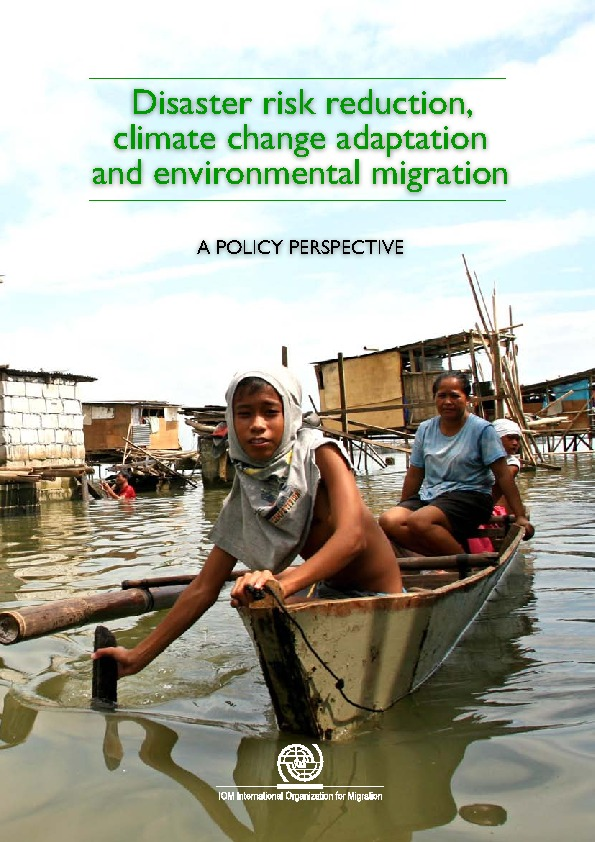 Disaster Risk Reduction, Climate Change