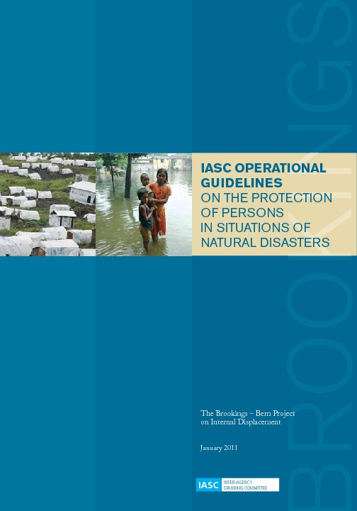 IASC Operational Guidelines