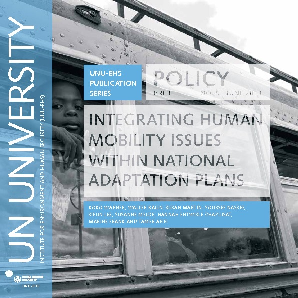 Integrating Human Mobility Issues