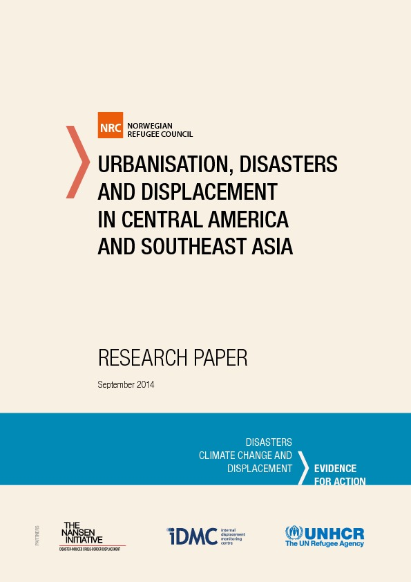Urbanisation, Disasters And Displacement In Central America And Southeast Asia