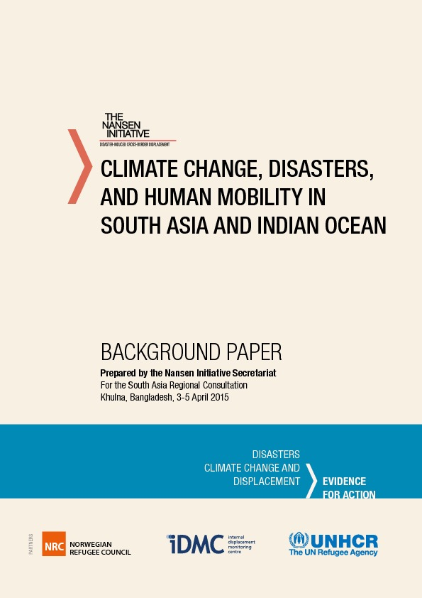 South Asia – Background Paper