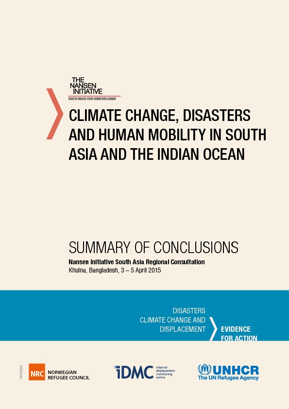 South Asia – Conclusions