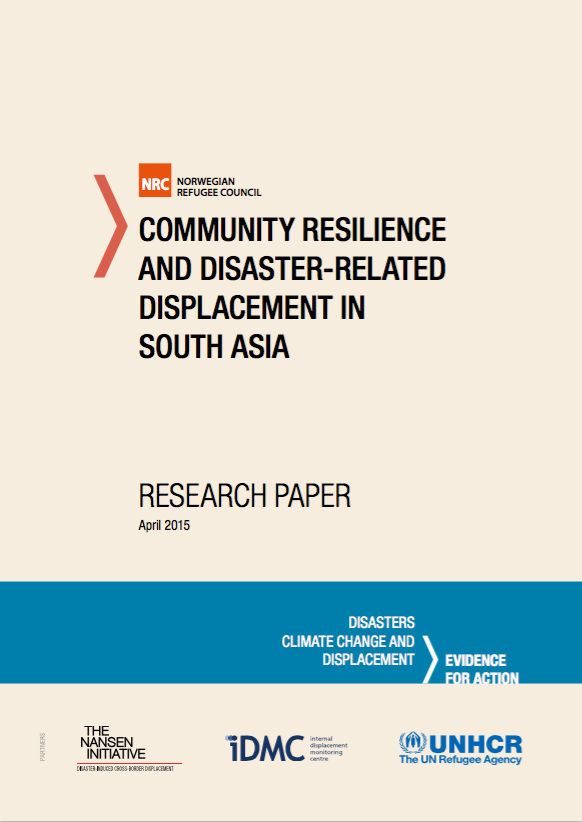 Community Resilience And Disaster-related Displacement In South Asia