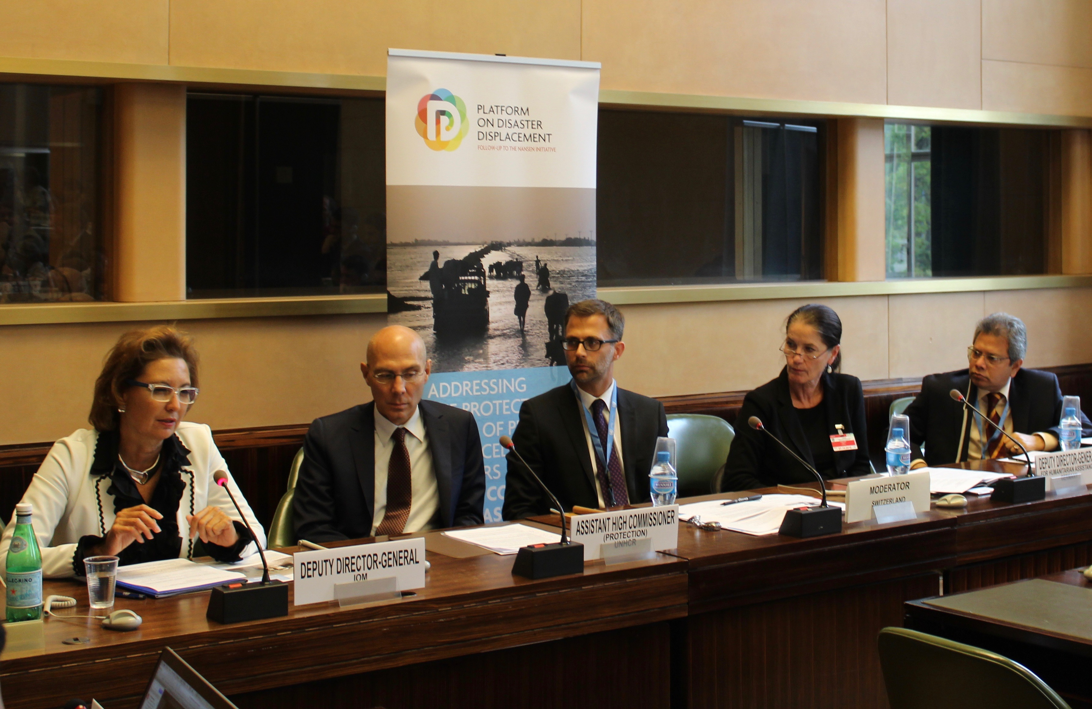 Side Event of the 67th UNHCR Executive Committee – Beyond the Nansen Initiative Protection Agenda: Platform on Disaster Displacement