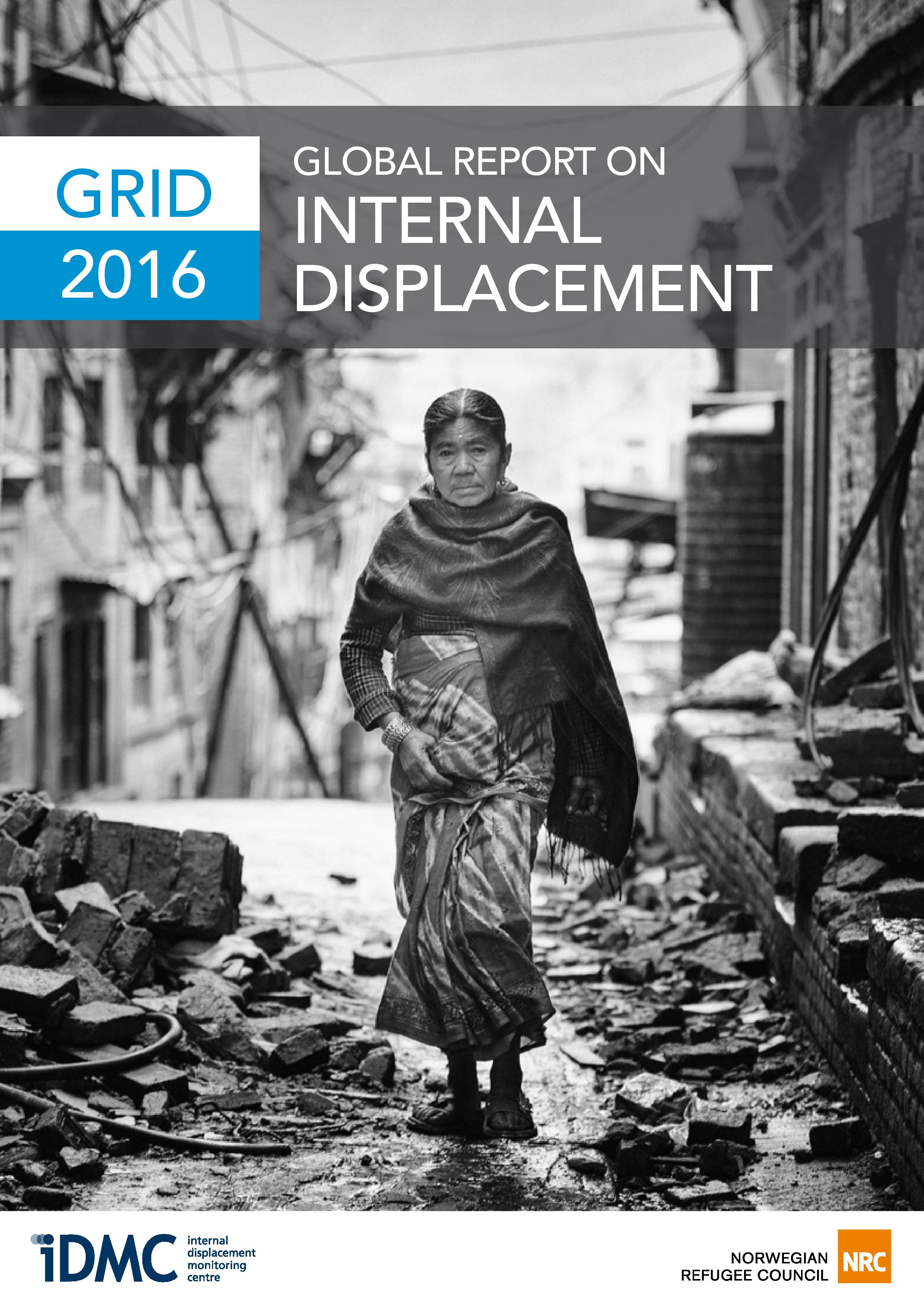 2016 Global Report On Internal Displacement (GRID)