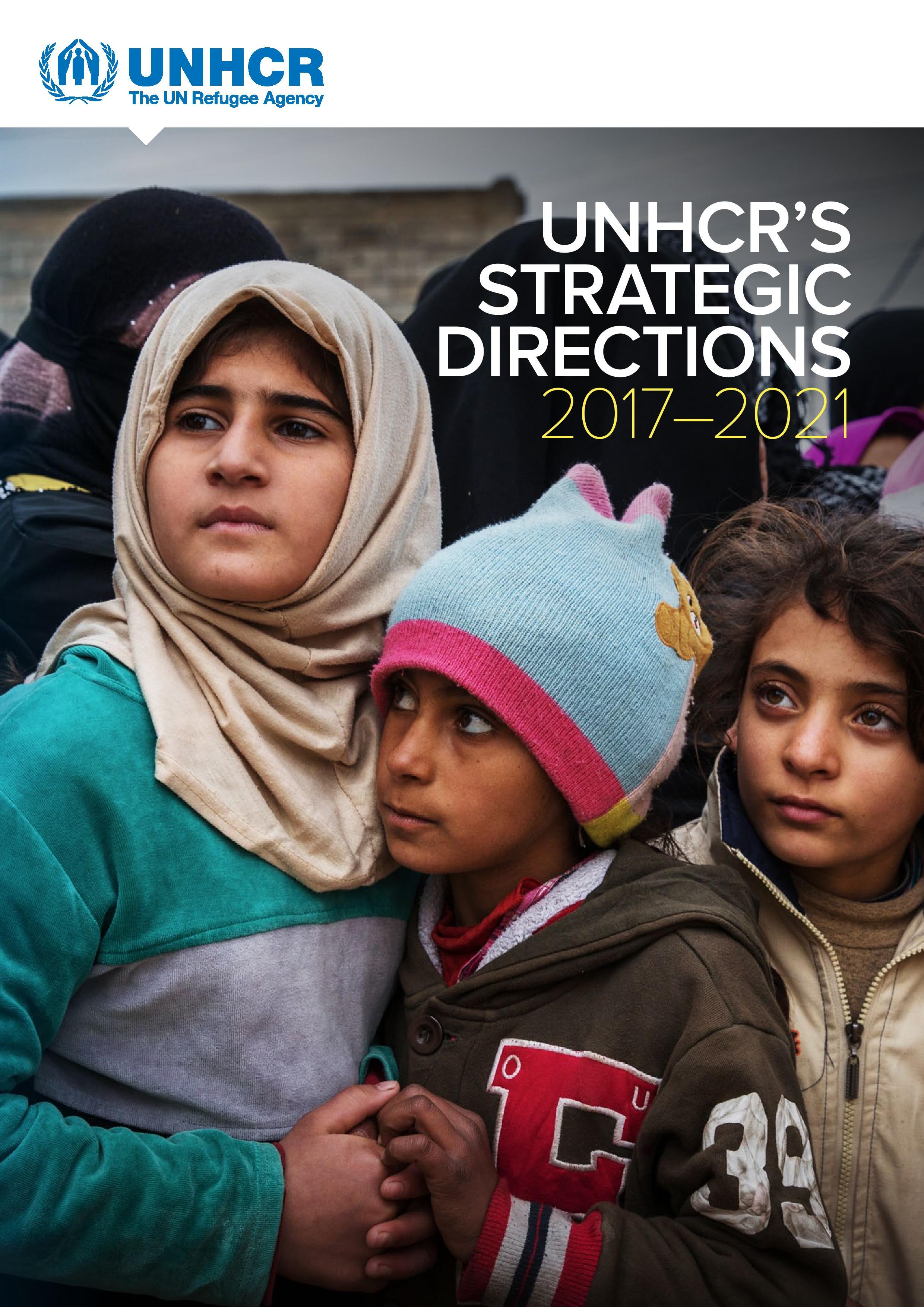 UNHCR's Strategic Direction 2017–2021