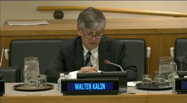 Global Compact On Migration And Disaster Displacement: Prof. Walter Kaelin, Addresses Member States