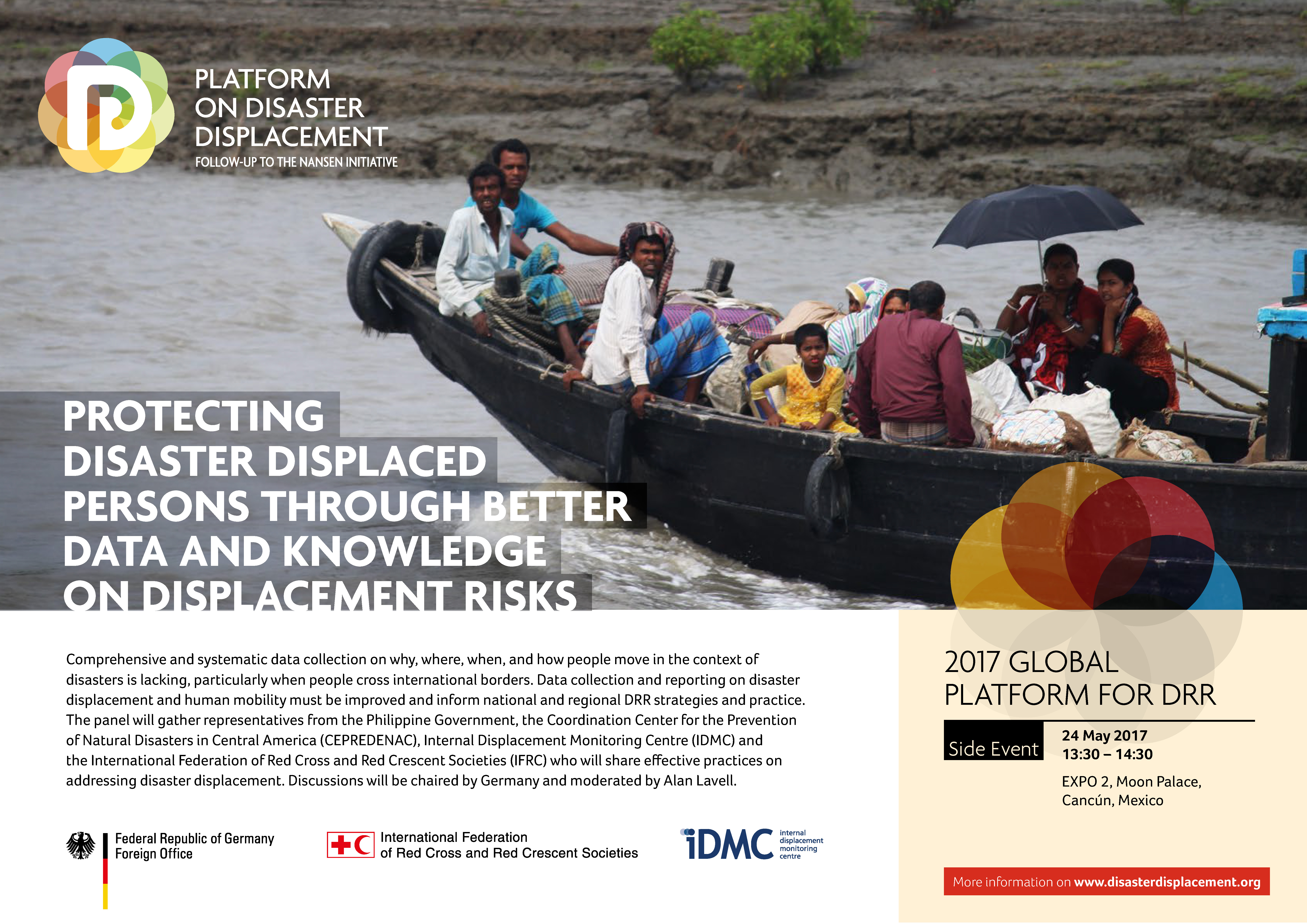 Disaster Displacement at the 2017 Global Platform on Disaster Risk Reduction