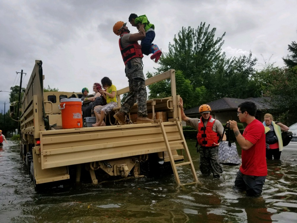 Harvey and Irma are part of a global humanitarian challenge