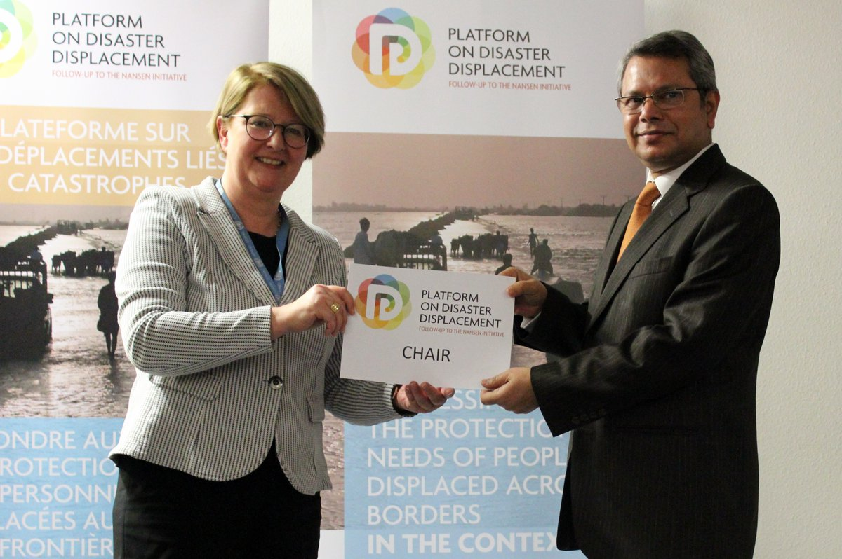 Bangladesh becomes the new Chair of the Platform on Disaster Displacement
