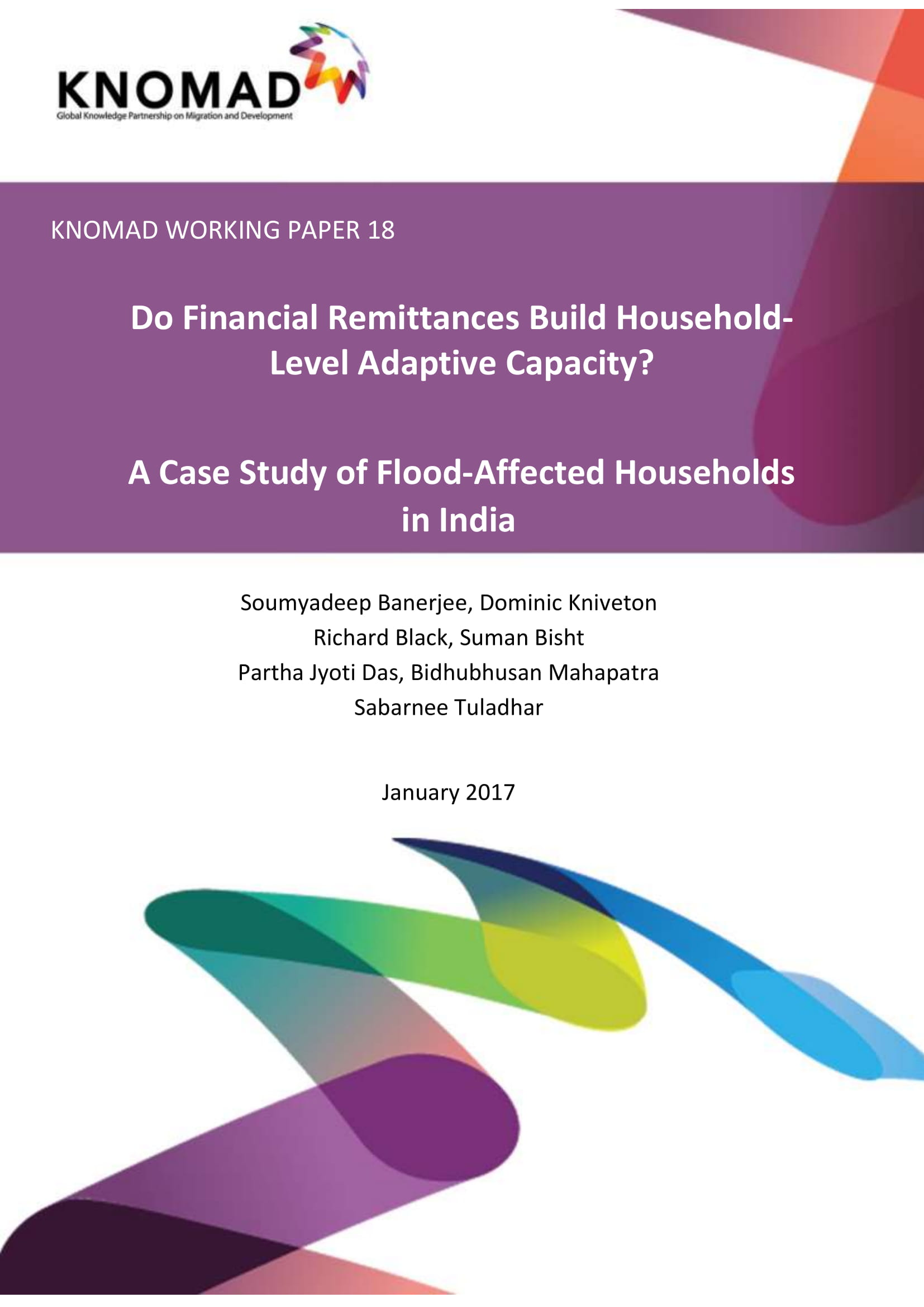 Do Financial Remittances Build Household-Level Adaptive Capacity? A Case Study Of Flood-Affected Households In India