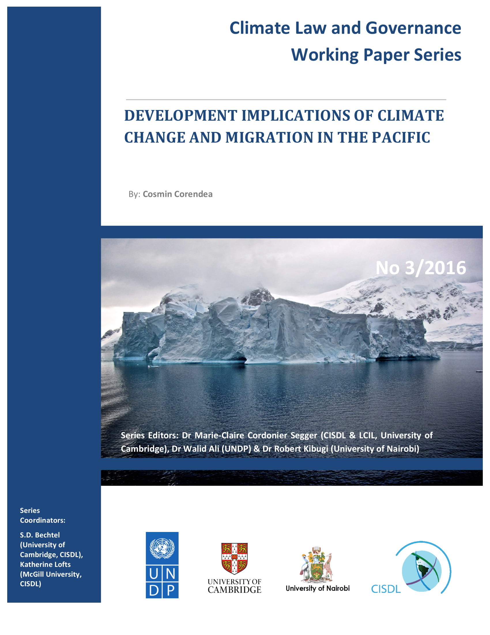 Development Implications Of Climate Change And Migration In The Pacific