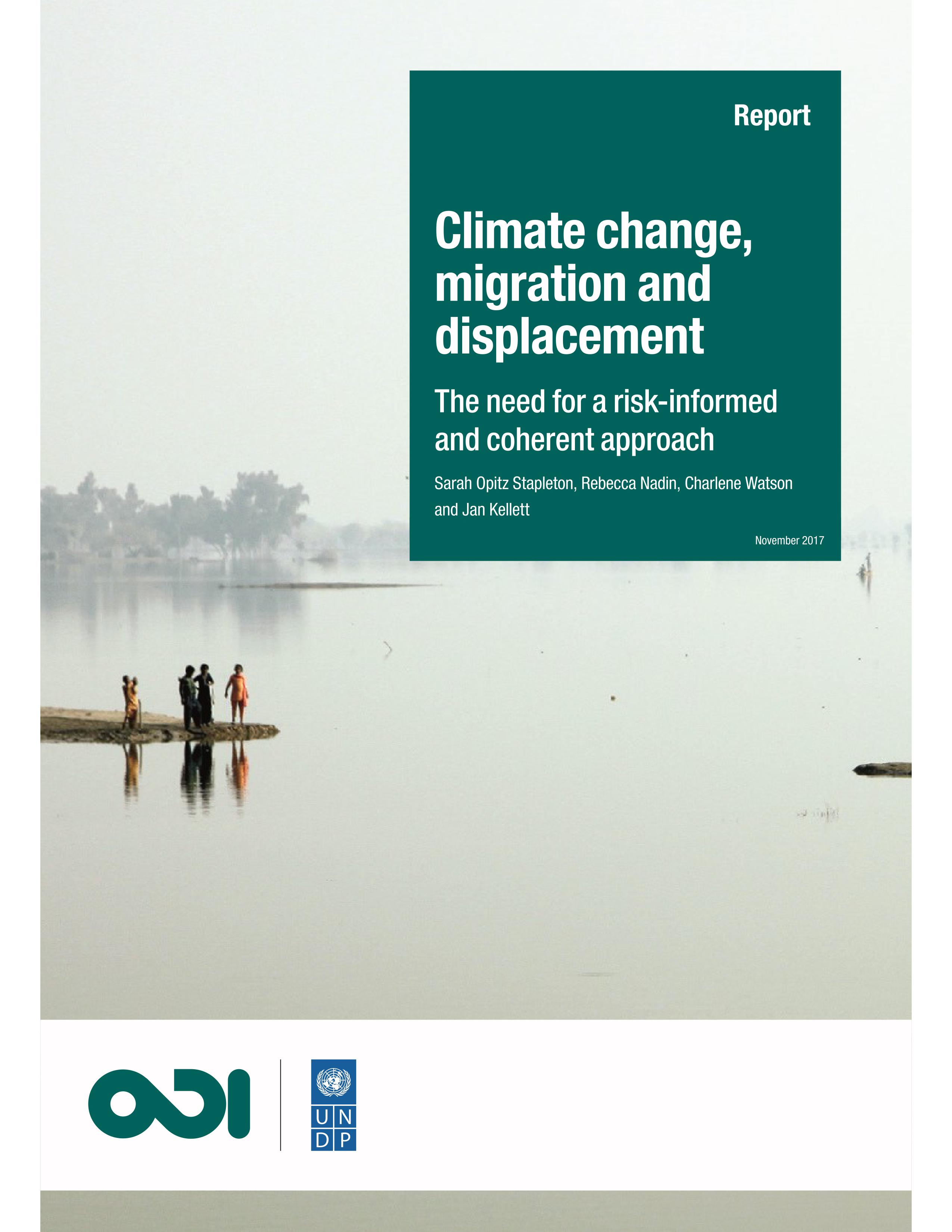 Climate Change, Migration And Displacement