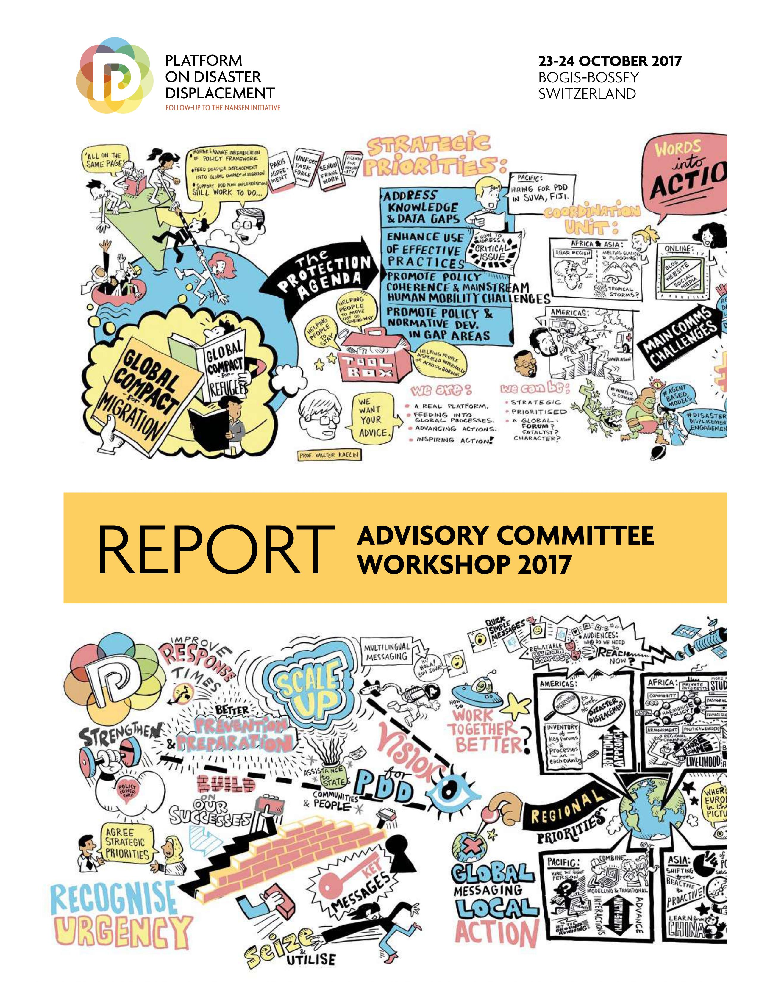 Report Advisory Committee Workshop 2017