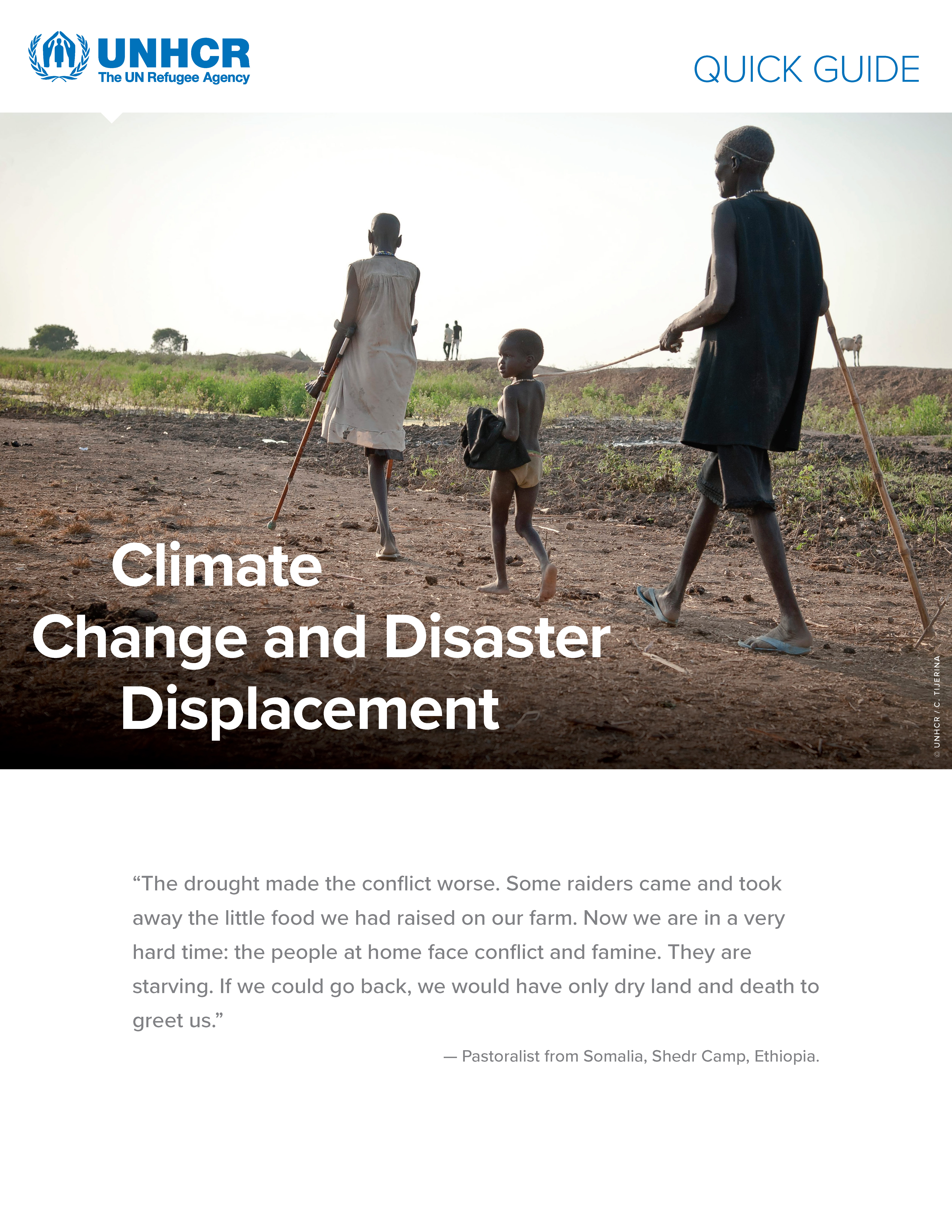 Quick Guide – Climate Change And Disaster Displacement