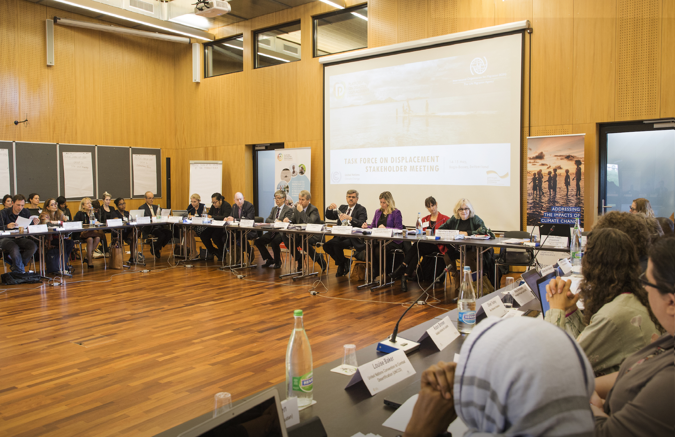 Experts Meet To Scale Up Efforts To Tackle The Challenge Of  Climate Change Displacement