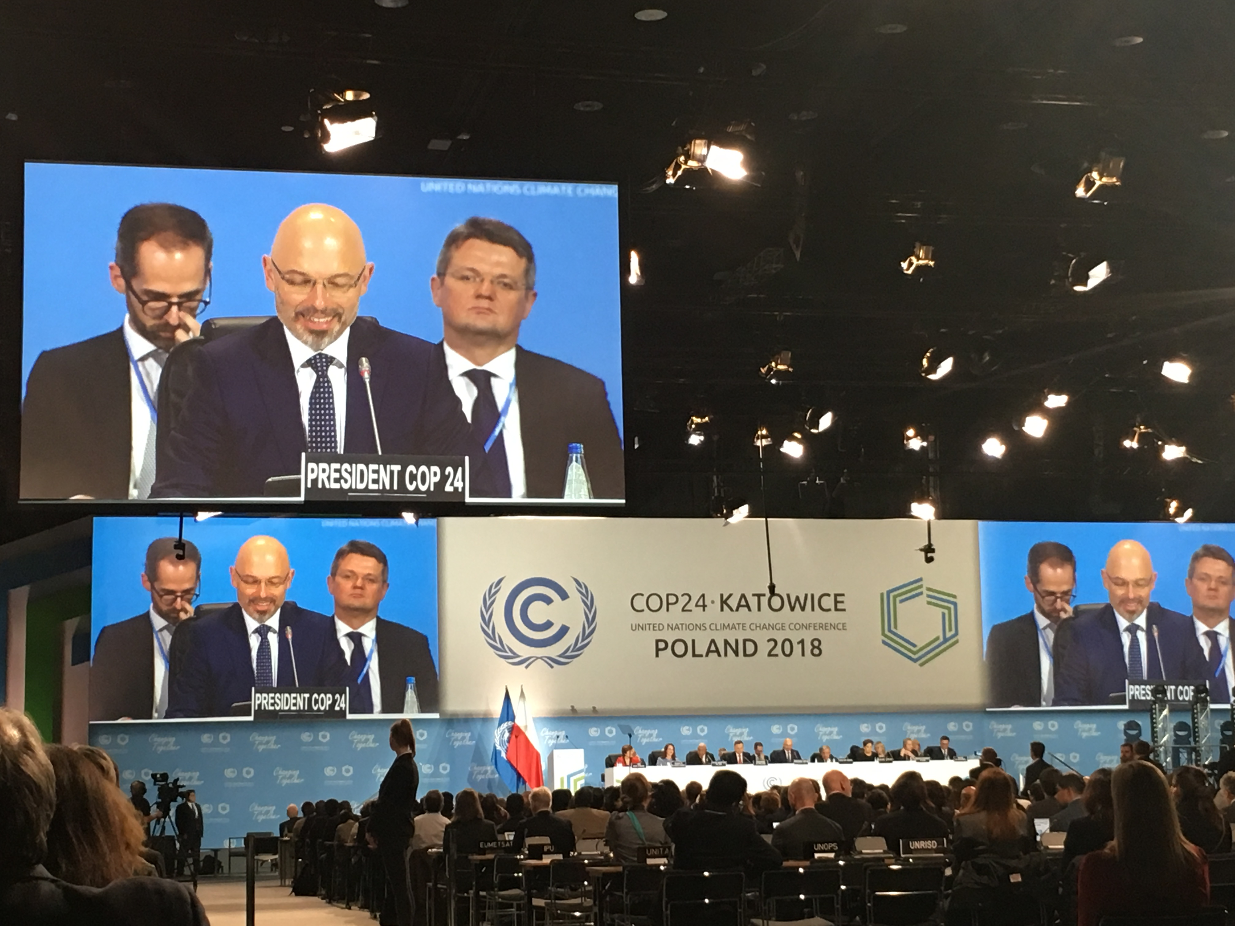 Displacement At The Katowice Climate Change Conference In December 2018 (COP 24)