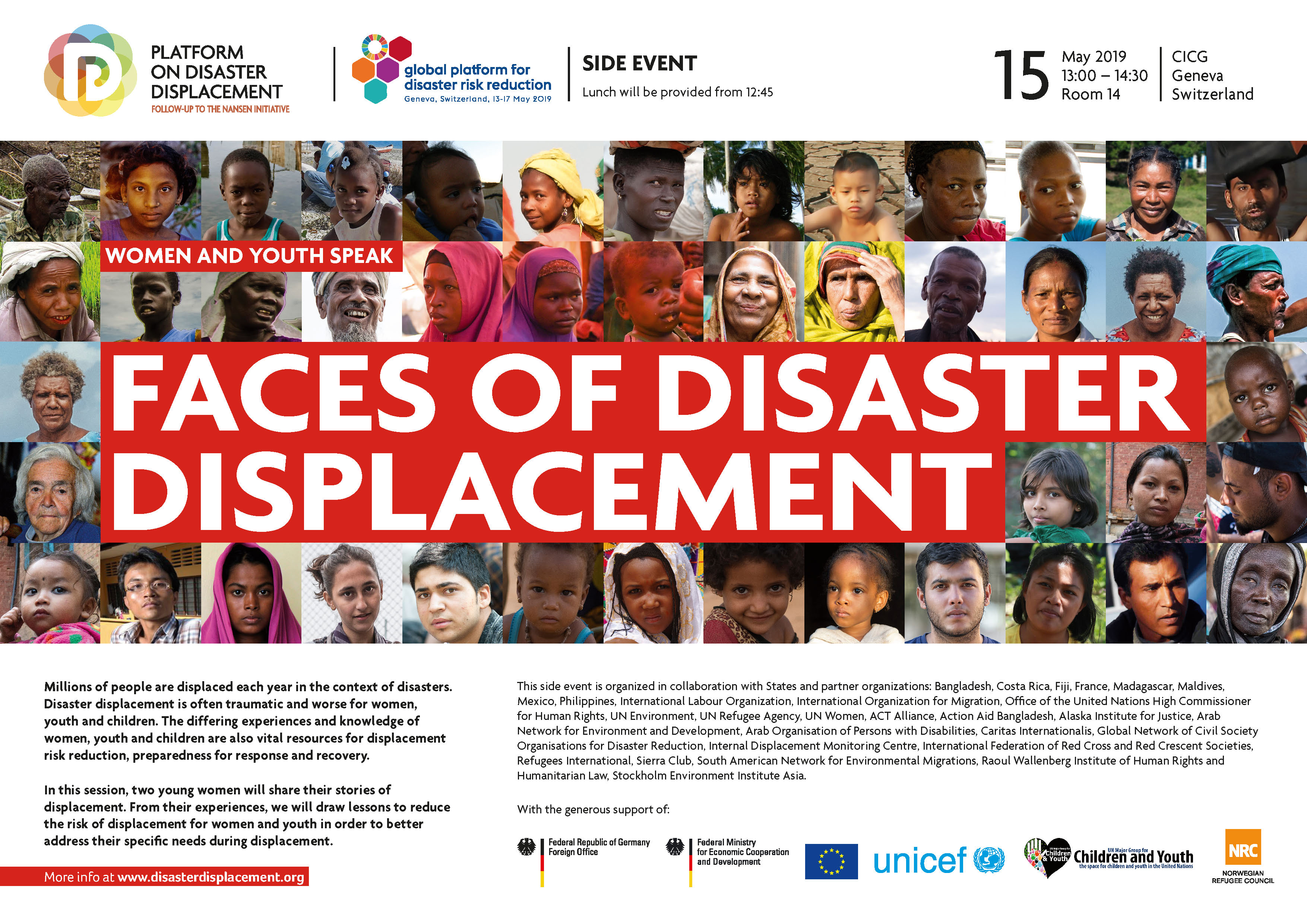 Disaster Displacement At The 2019 Global Platform On Disaster Risk Reduction