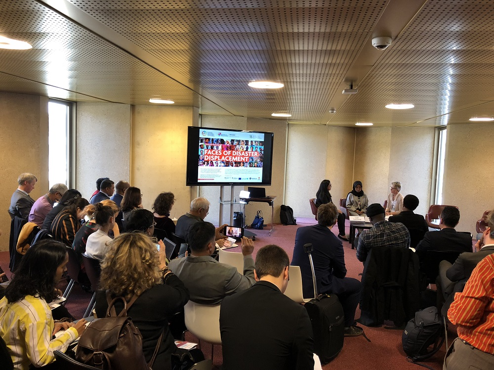 Women And Youth Speak: Faces Of Disaster Displacement At GP19