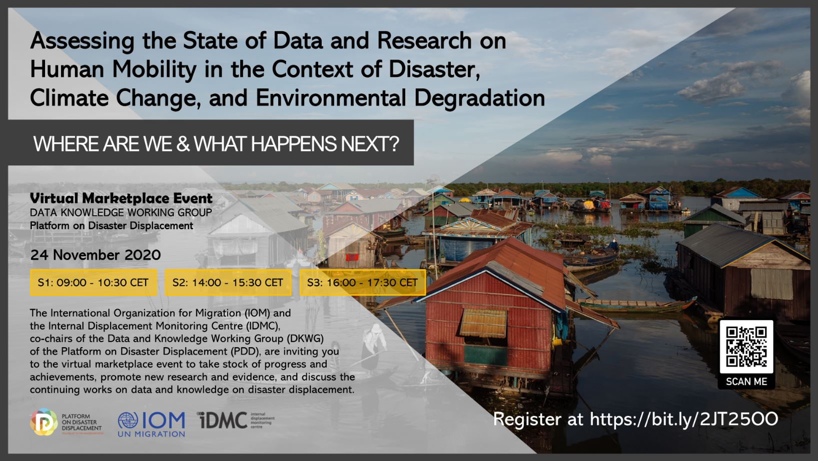 Virtual Event | Data On Human Mobility In Disaster Contexts: Where Are We And What Comes Next?