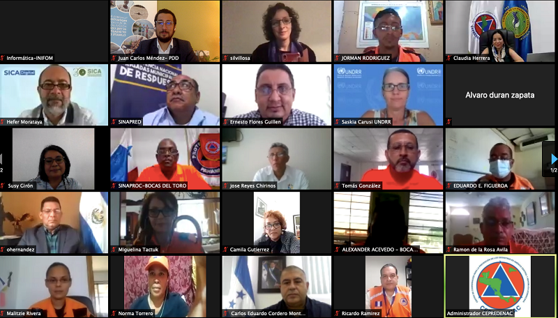 Central America – First Regional Pilot Of The ELearning Tool On The 'Words Into Action' Guidelines On Disaster Displacement