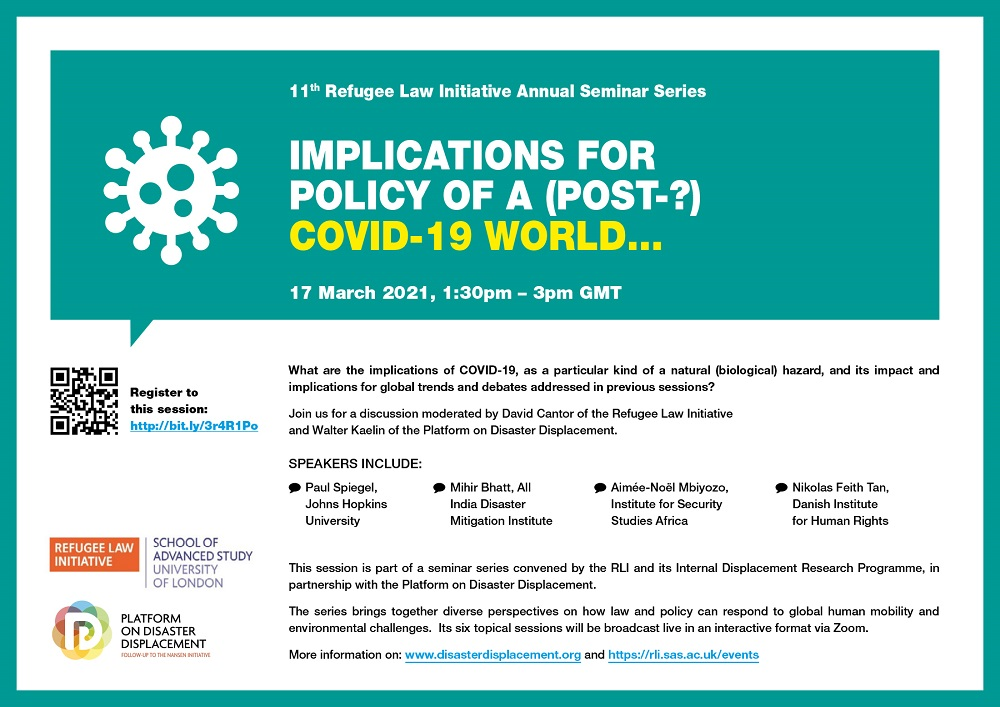 Webinar | Implications For Policy Of A (post-?) COVID-19 World…